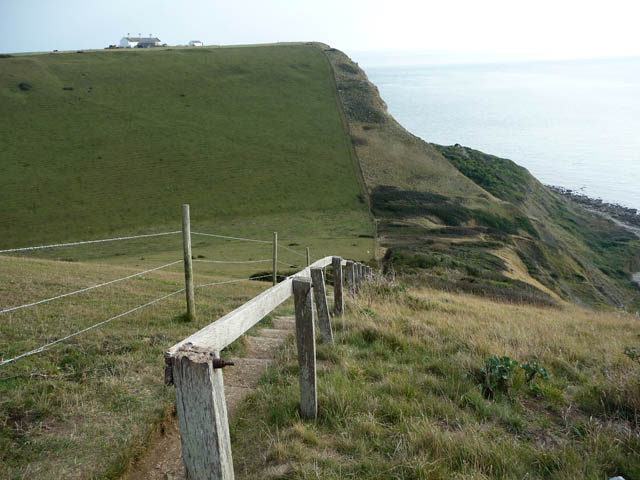 View from Emmetts Hill over Pier Bottom to St Aldhelm's Head - geograph.org.uk - 1626246