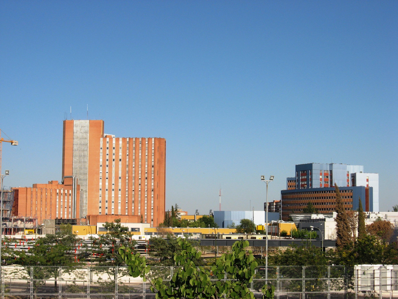 Depiction of Hospital 12 de Octubre