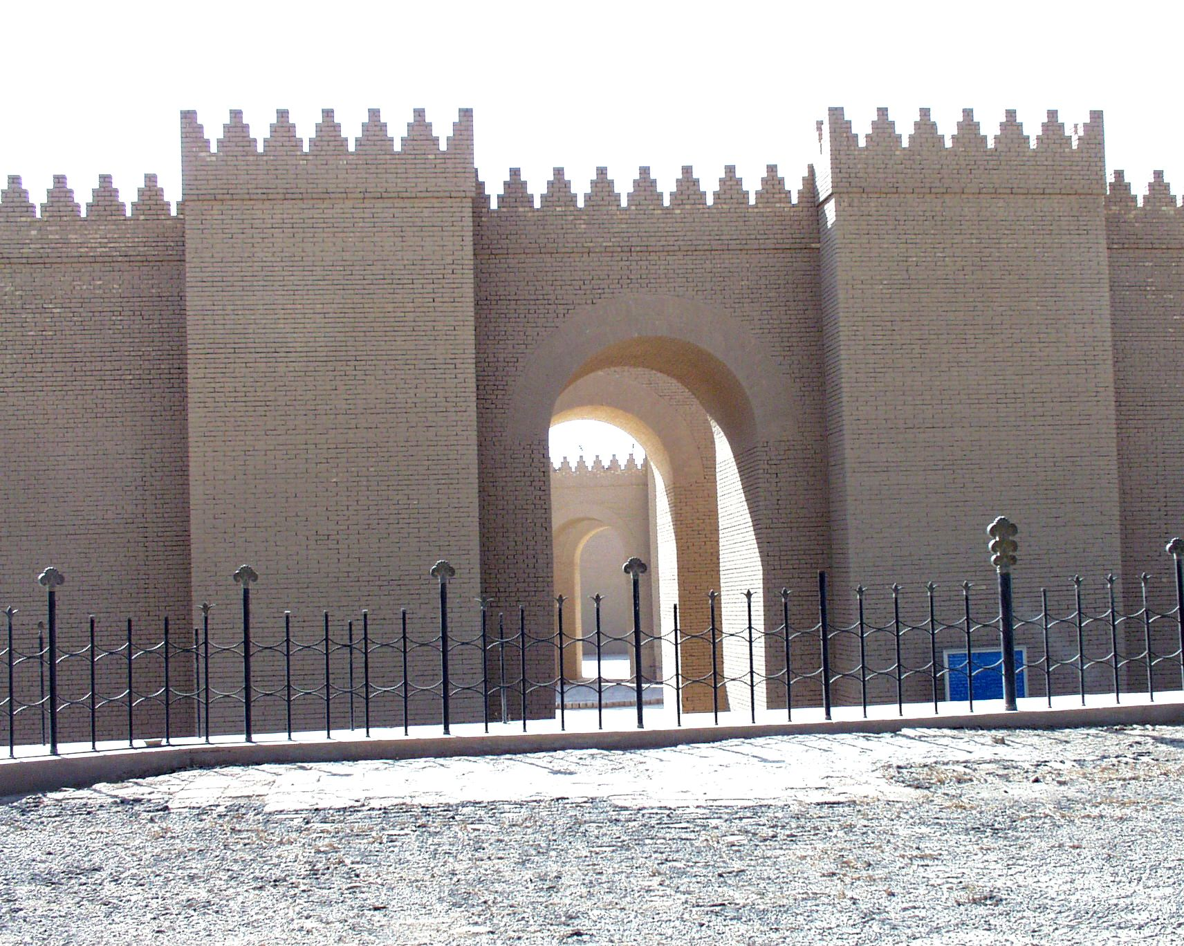 This licensing tag was added to this file as part of the GFDL    Babylon City Walls
