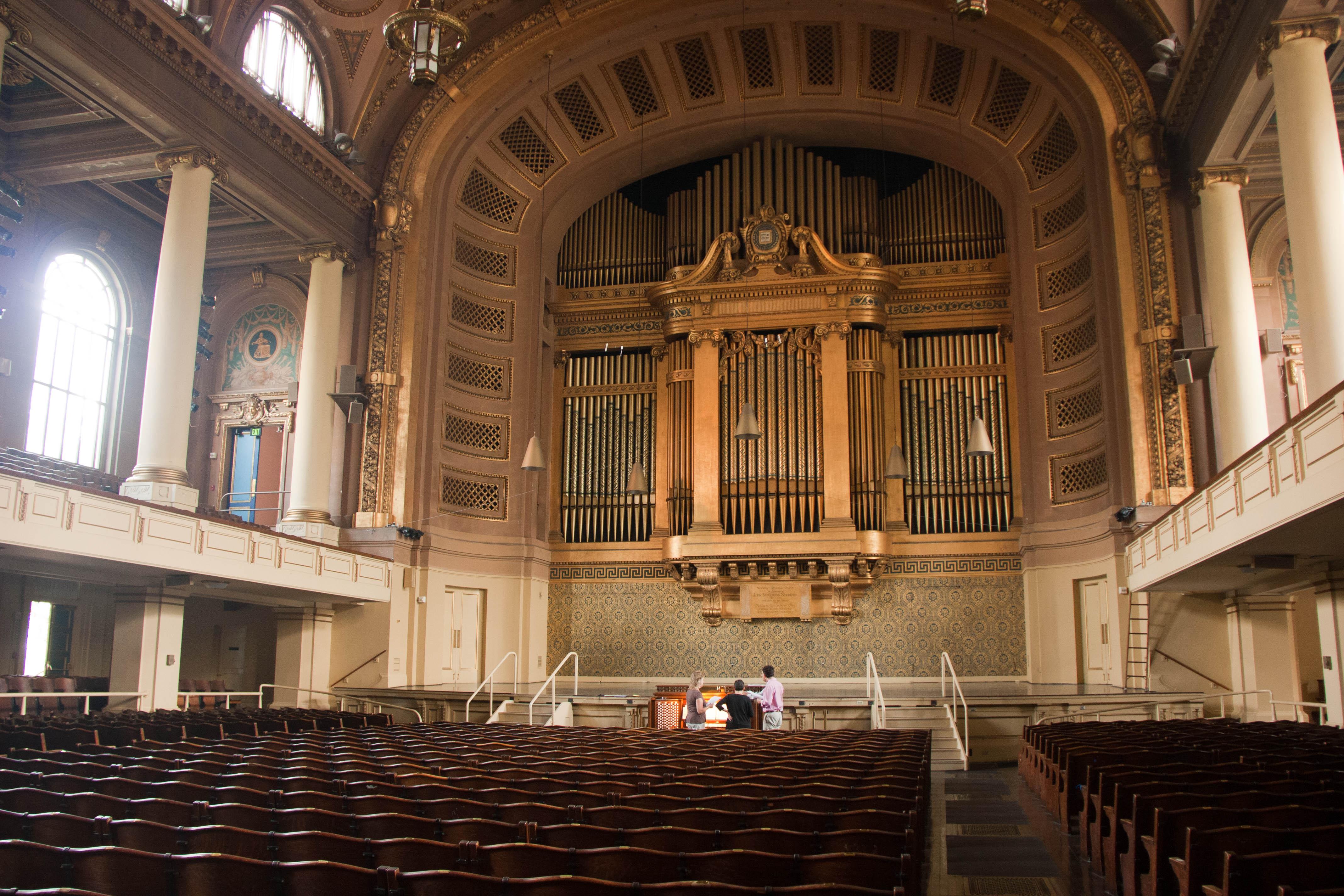 Newberry Memorial Organ - Wikipedia