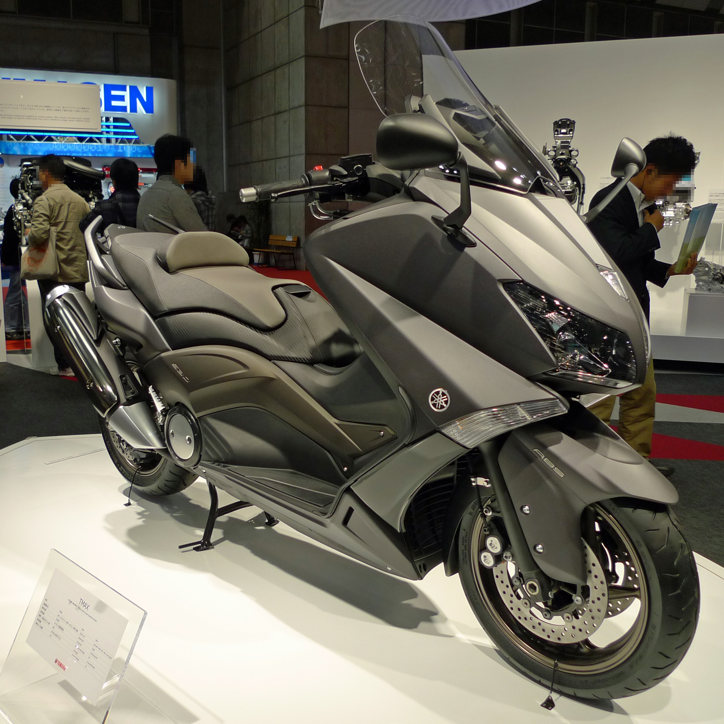 file yamaha tmax 2011 tokyo motor wikimedia commons. Black Bedroom Furniture Sets. Home Design Ideas