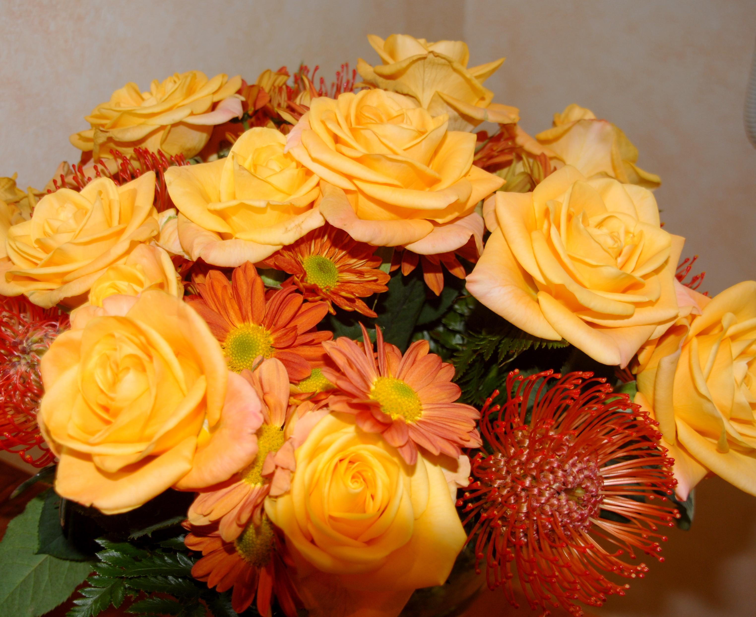 Fileyellow flower bouquet rosesg wikimedia commons fileyellow flower bouquet rosesg dhlflorist Gallery