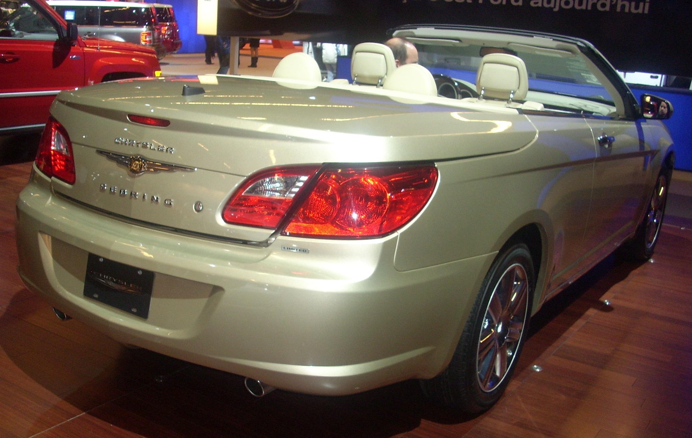 File 10 Chrysler Sebring Convertible Rear Mias Jpg