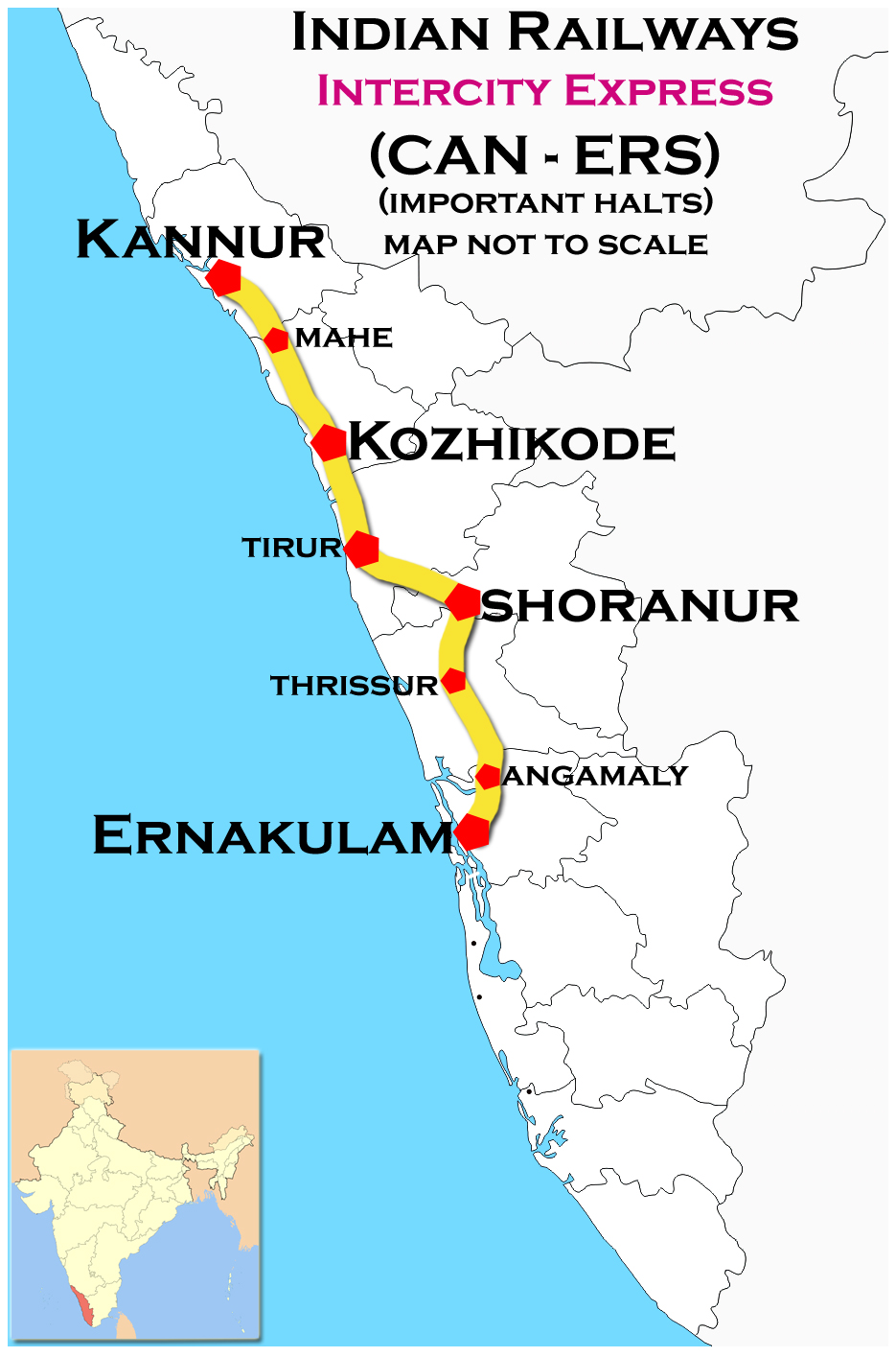 FileKannur Ernakulam Intercity Express Route Mapjpg - Kannur map