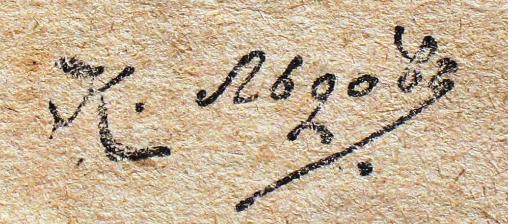 Льдов Константин автограф 1914.JPG