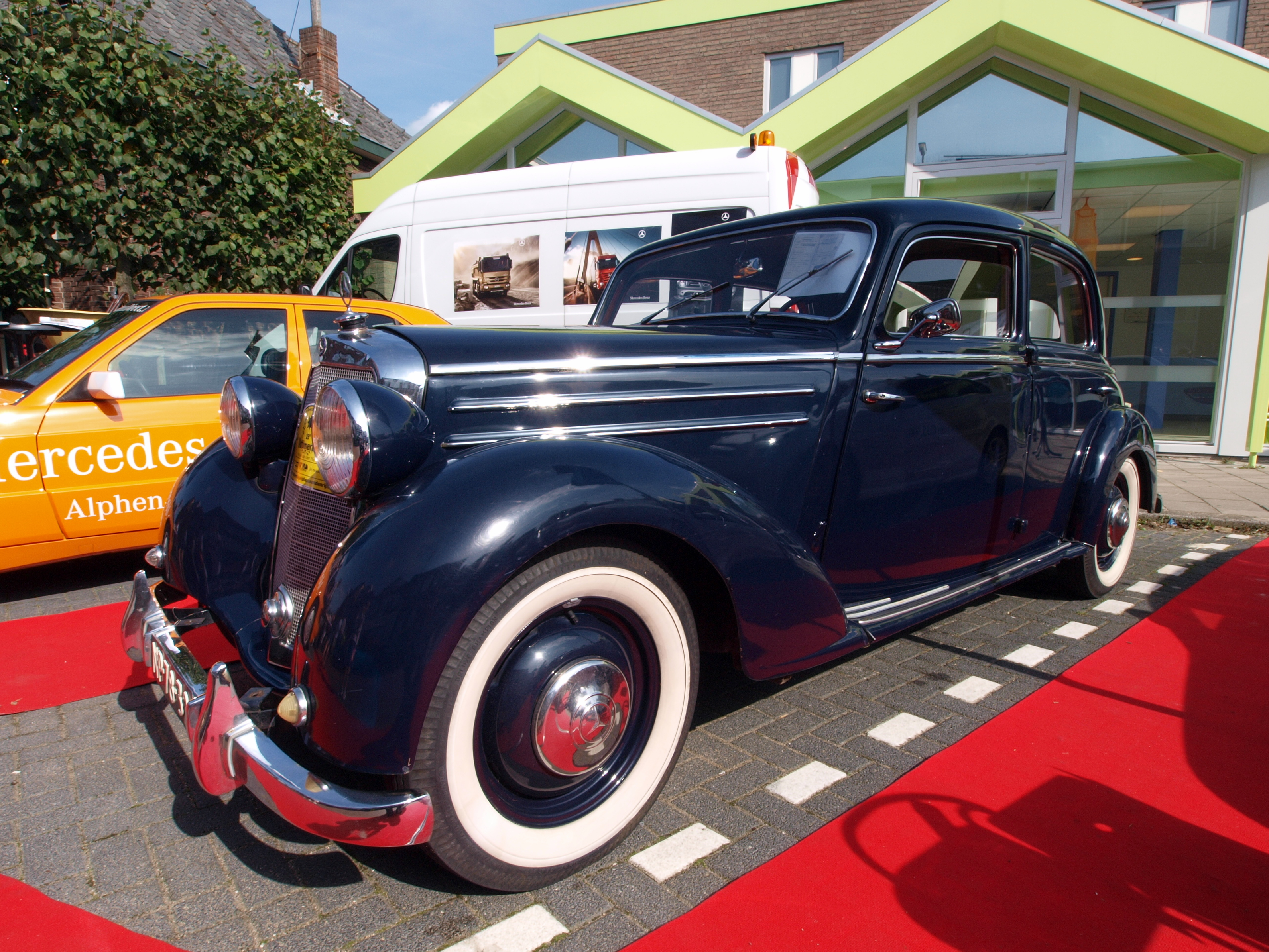 File 1952 mercedes benz 170 ds jpg wikimedia commons for Mercedes benz 170 ds for sale