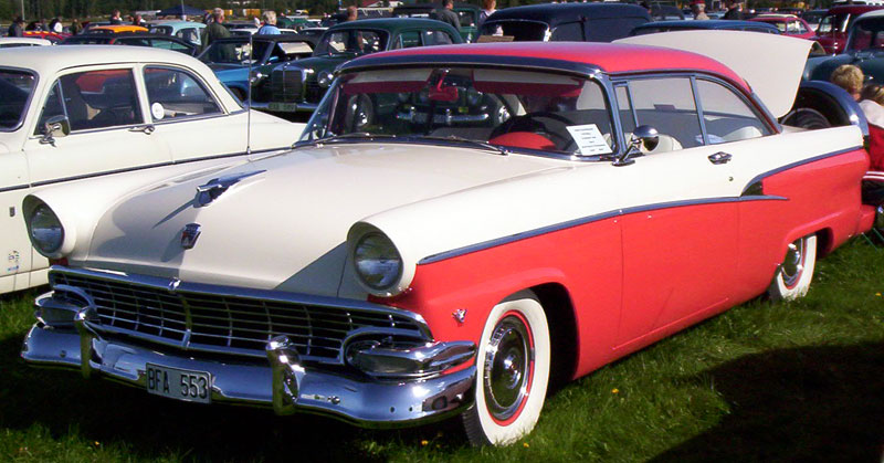File 1956 ford customline wikimedia commons for 1956 ford customline 2 door hardtop