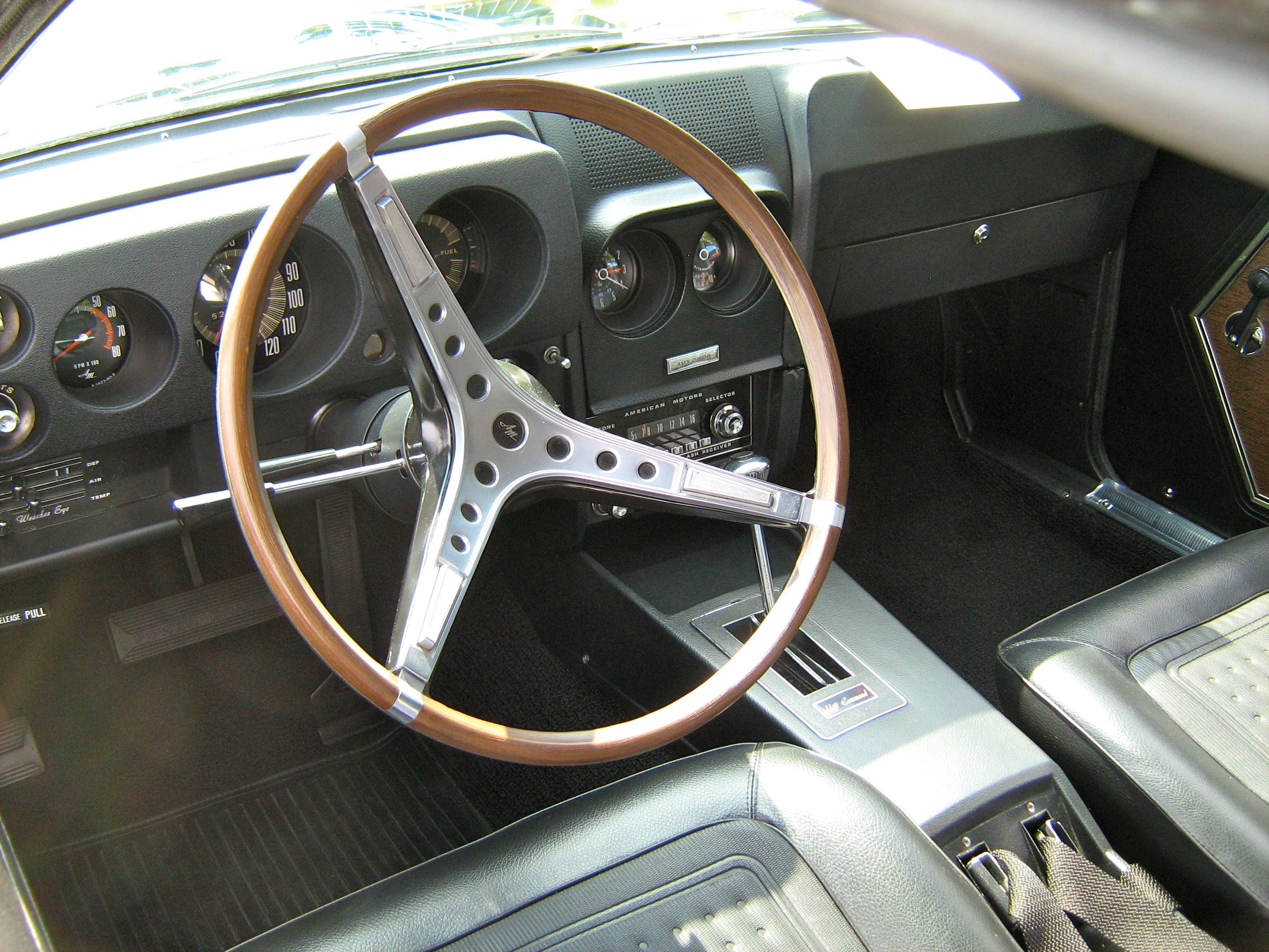 1968 AMC AMX Interior