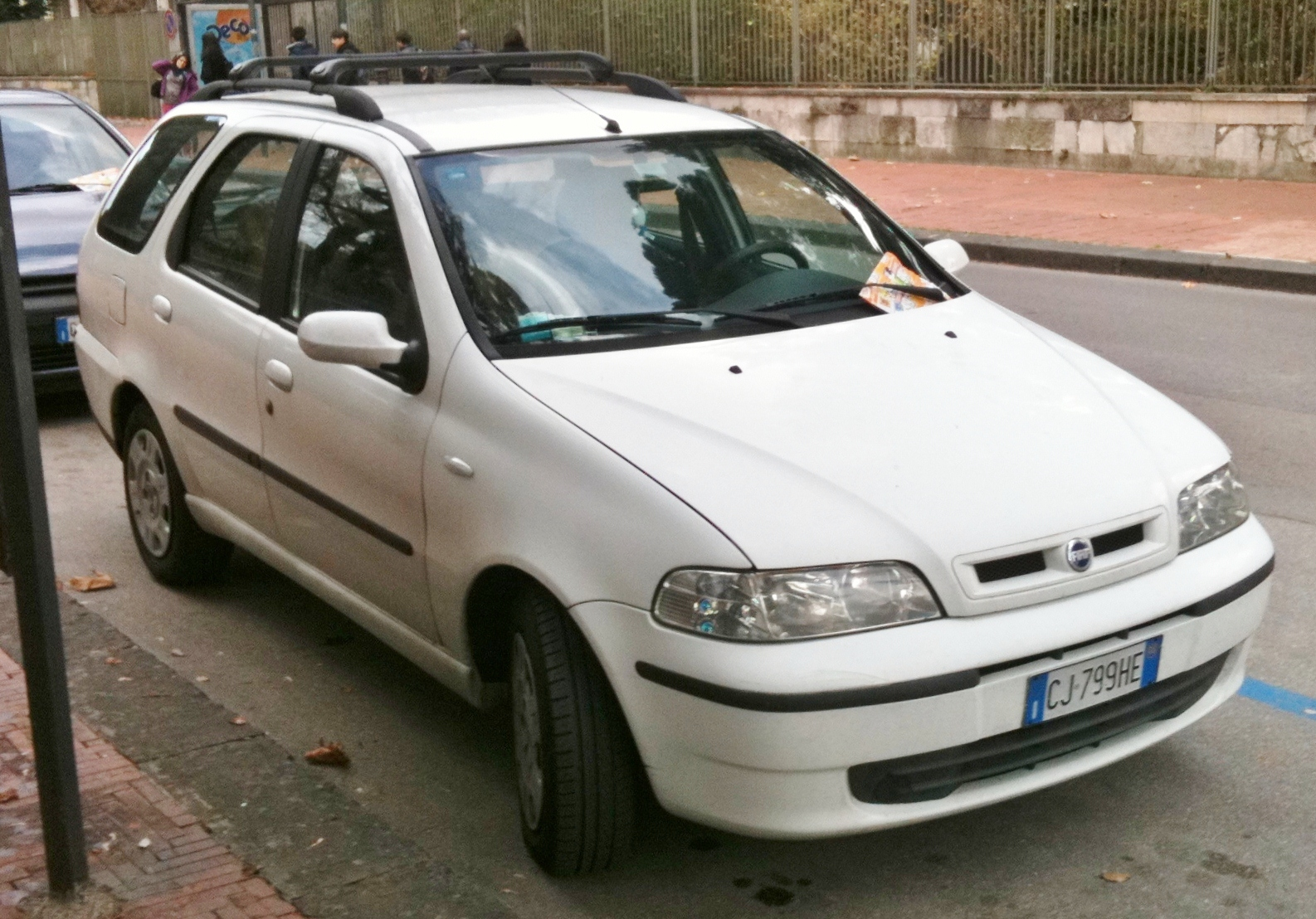 File 2003 Fiat Palio Weekend 1 9 Jtd Hl Front Jpg