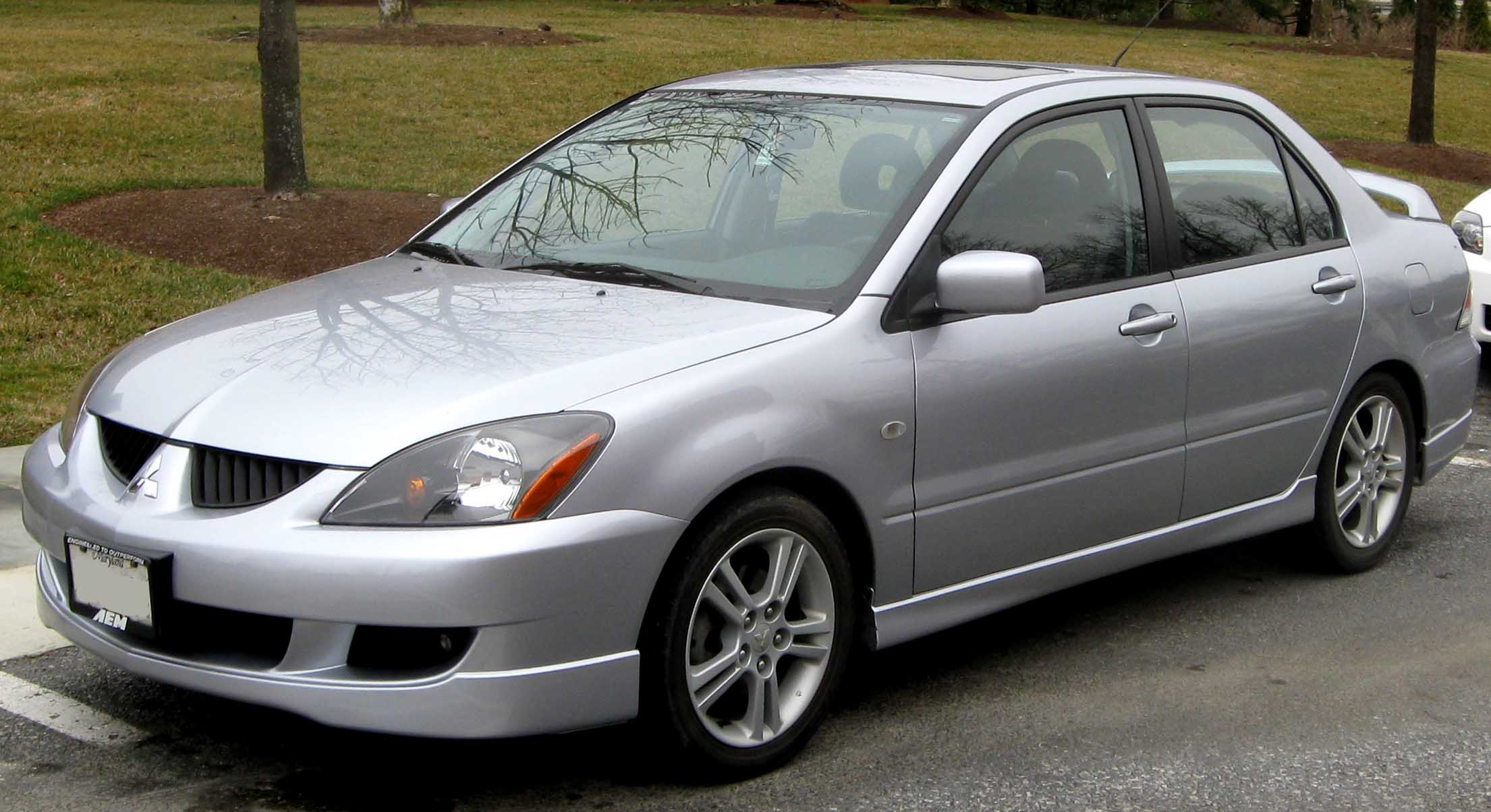 File:2004-2005 Mitsubishi Lancer Ralliart.jpg - Wikimedia Commons