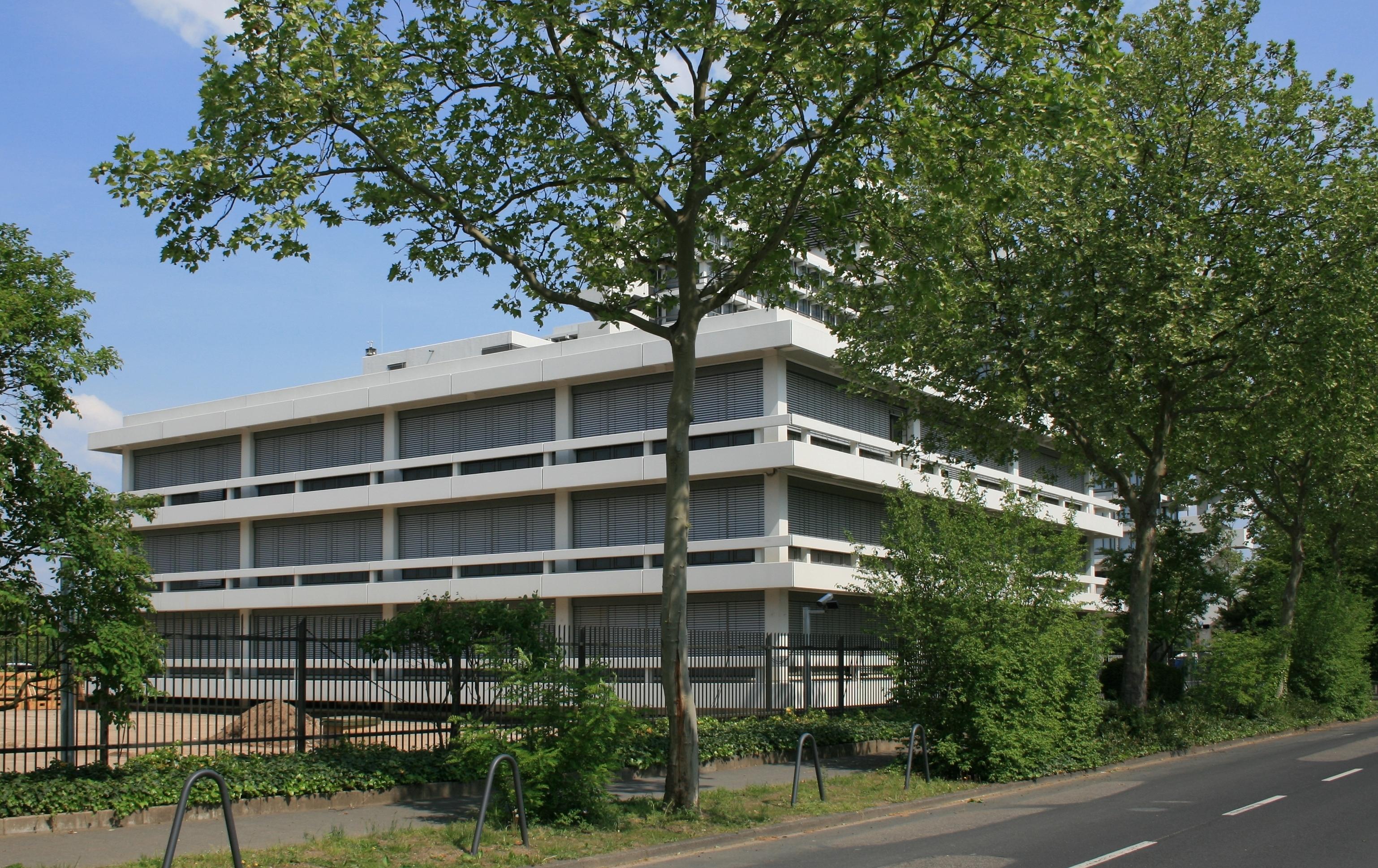 Das Eisenbahn-Bundesamt in Bonn