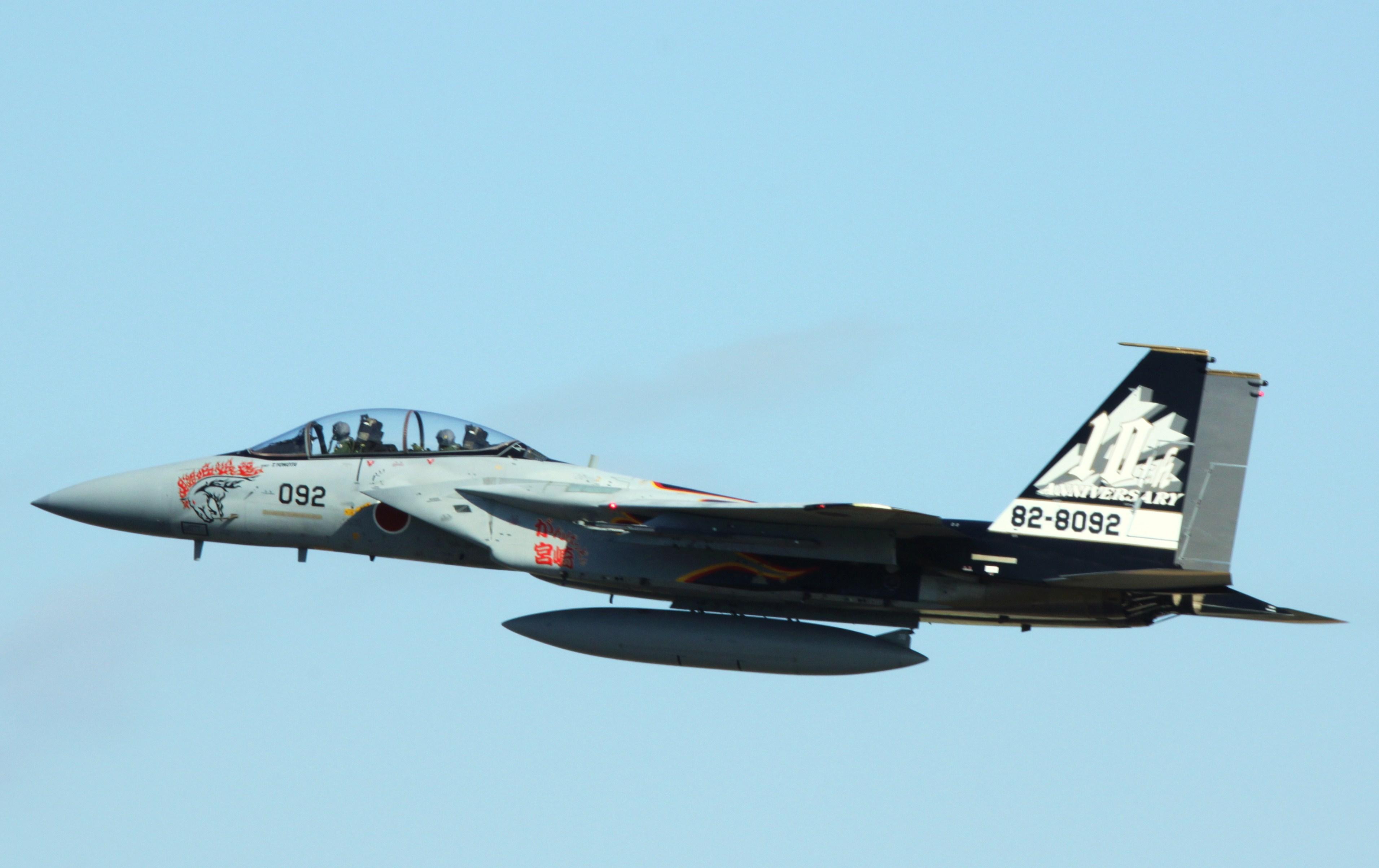 File 23rd Squadrons F 15dj 10th Anniversary Markings Jpg
