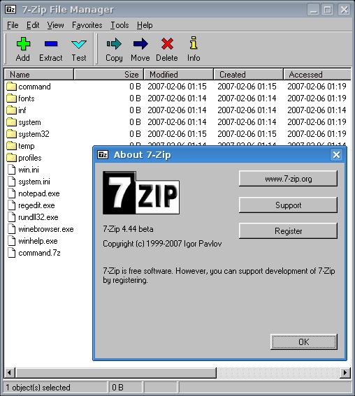 Ubuntu zip