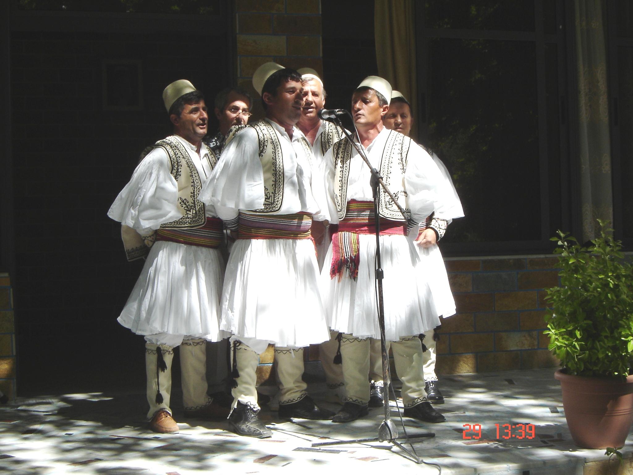 Grupo de música tradicional albanesa de Skrapar