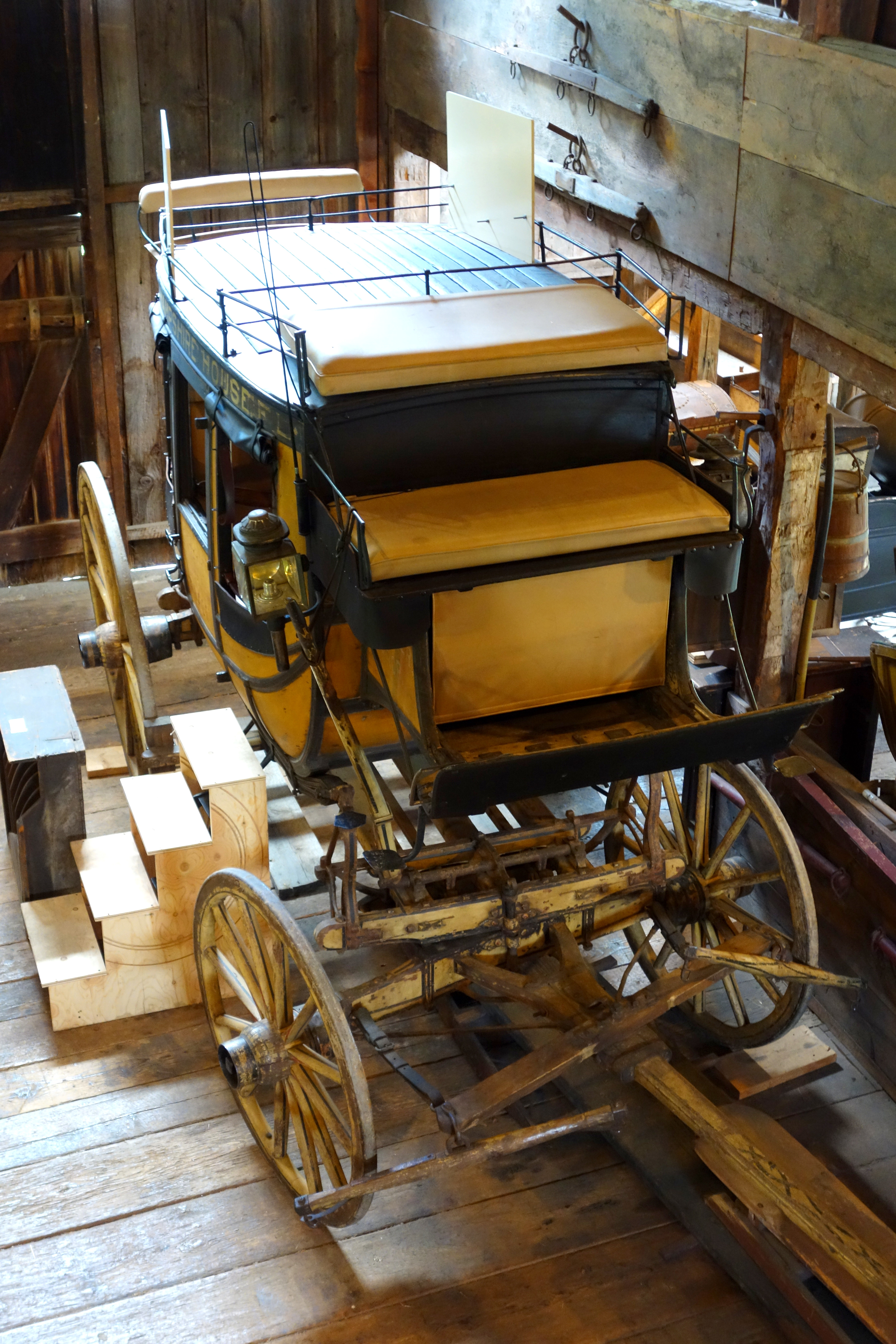 file:abbott & downing concord coach, view 4 - hadley farm museum
