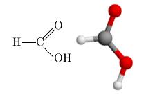 File Acido Formico Struttura Modello Png Wikimedia Commons