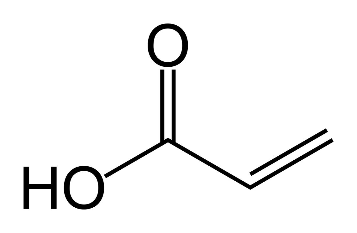 Acrylic Acid Skeletal Benzoic Wikipedia