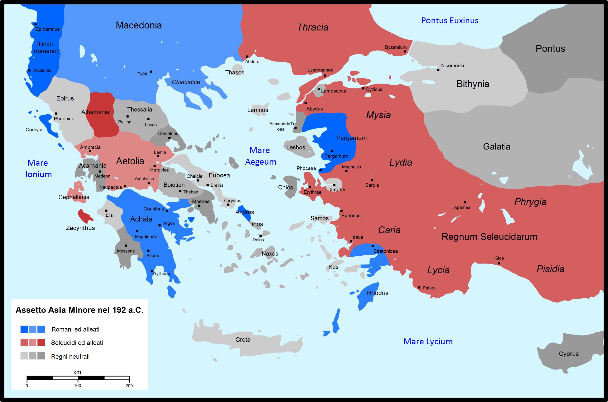 Cartina Africa E Siria.Guerra Romano Siriaca Wikipedia