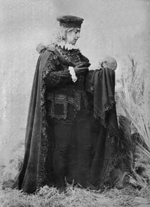 Alexander Roinashvili. Lado Meskhishvili in role of Hamlet. 1896