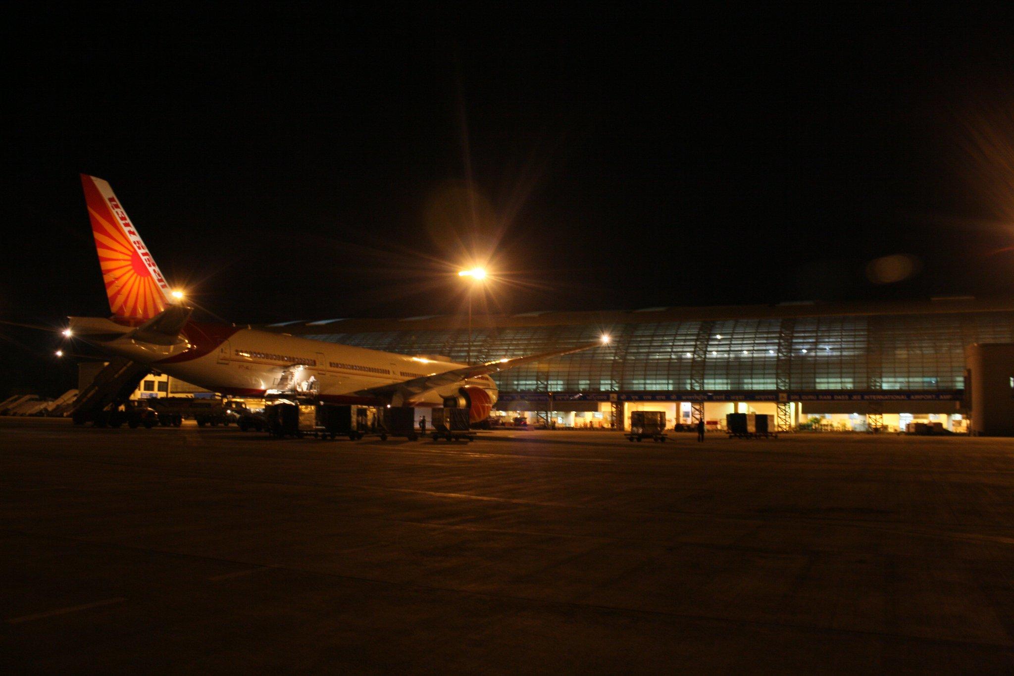 File Amritsar Airport Jpg Wikimedia Commons
