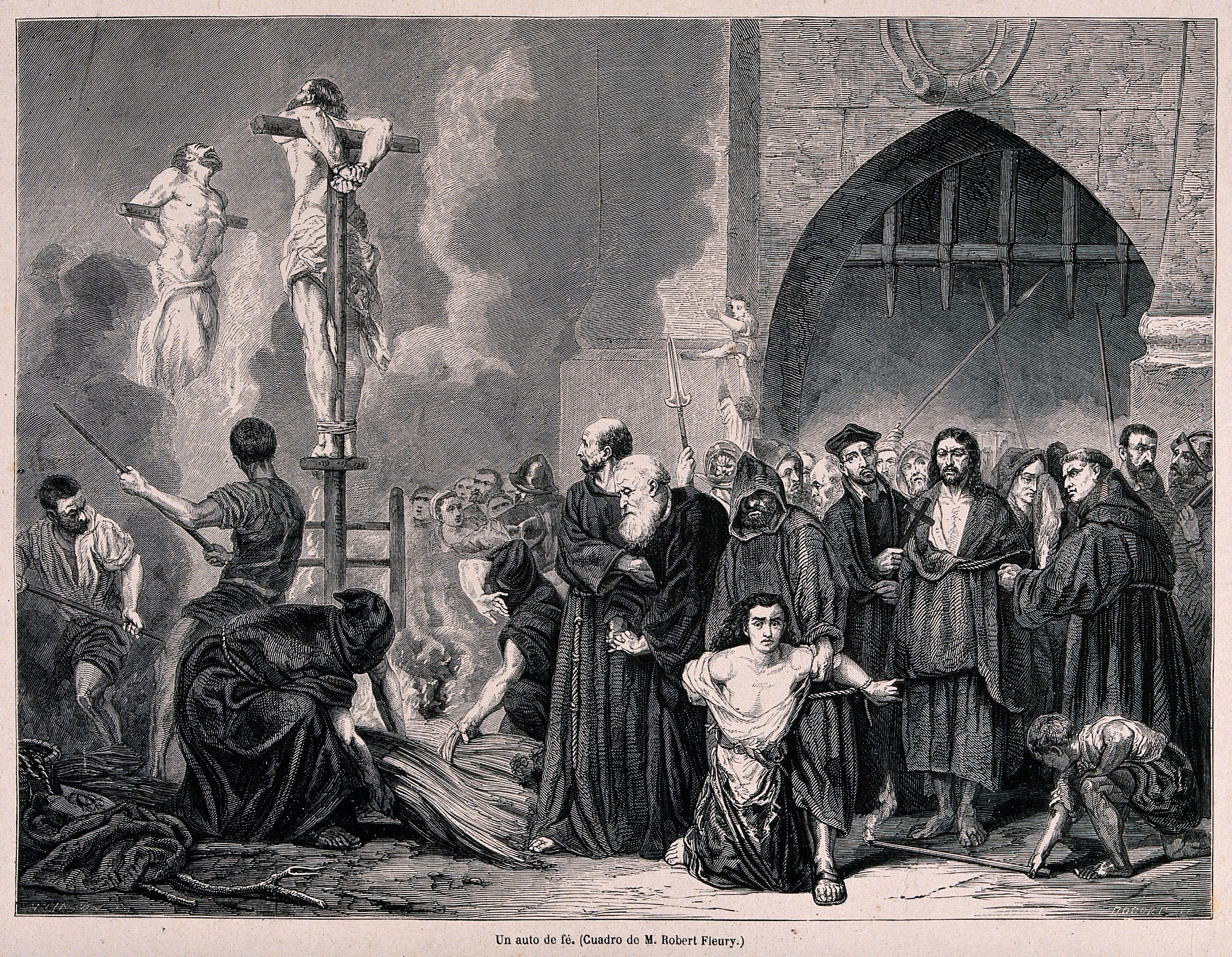 torture techniques of the spanish inquisition spanish  an auto da fe of the spanish inquisition and the execution of sentences by