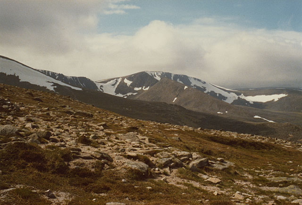 An t-Aonach, the north ridge of Cairngorm - geograph.org.uk - 861672
