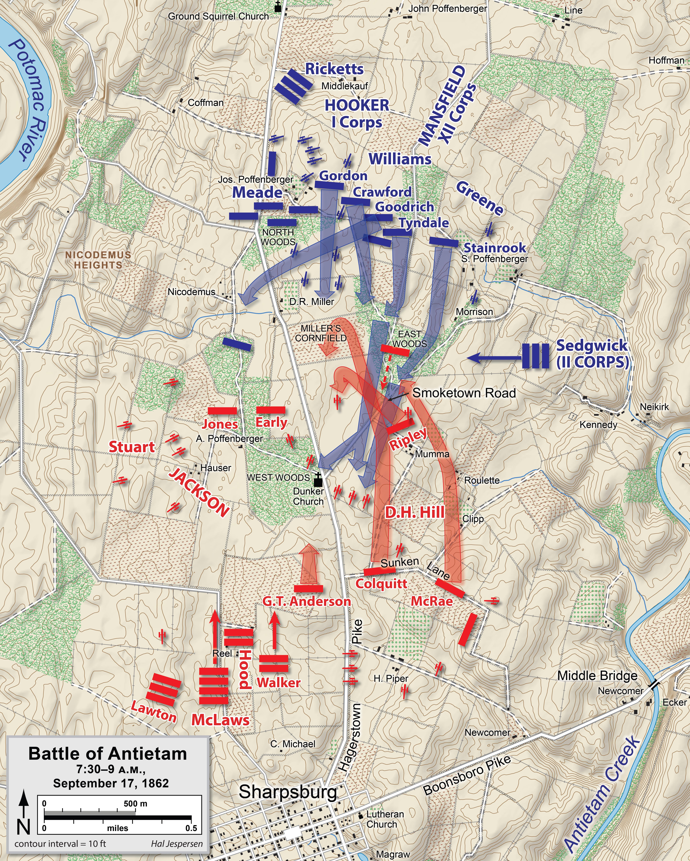 FileAntietampng Wikimedia Commons - Antietam battle us map