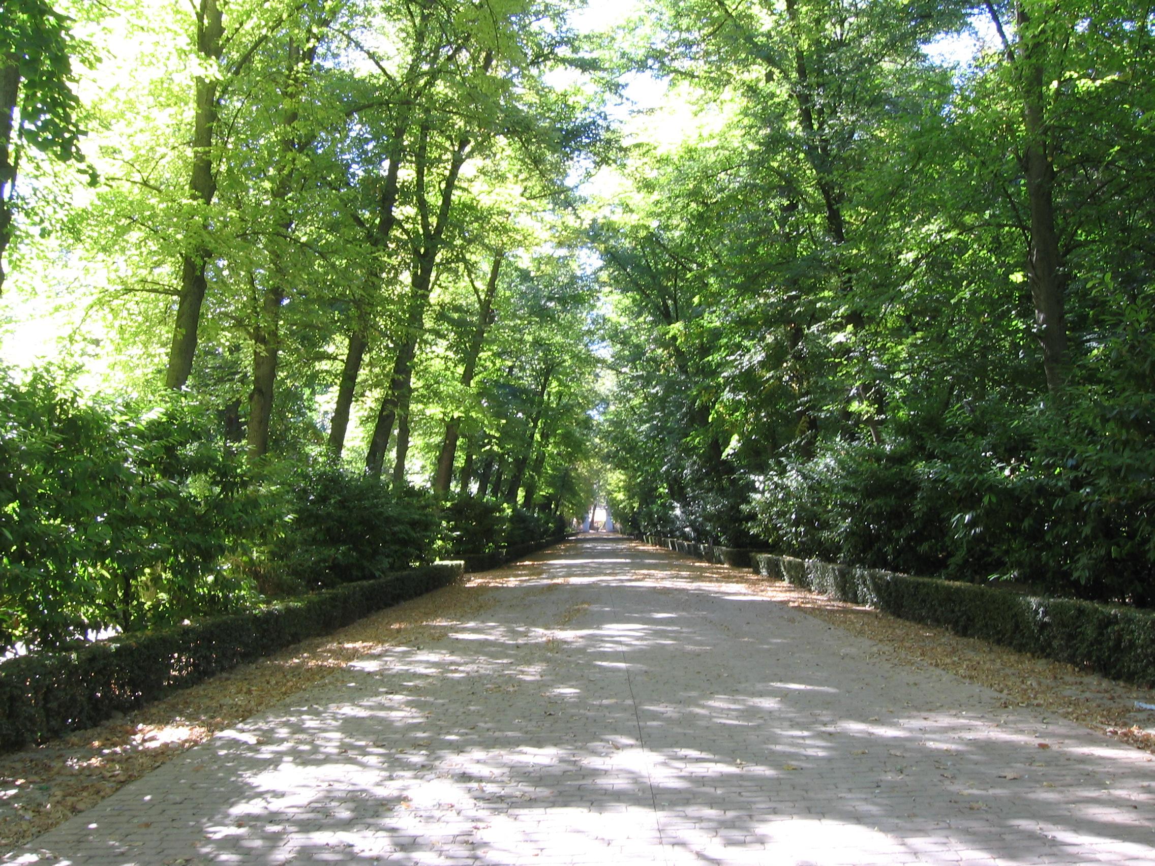 File aranjuez jardin principe calle for Calle jardines madrid