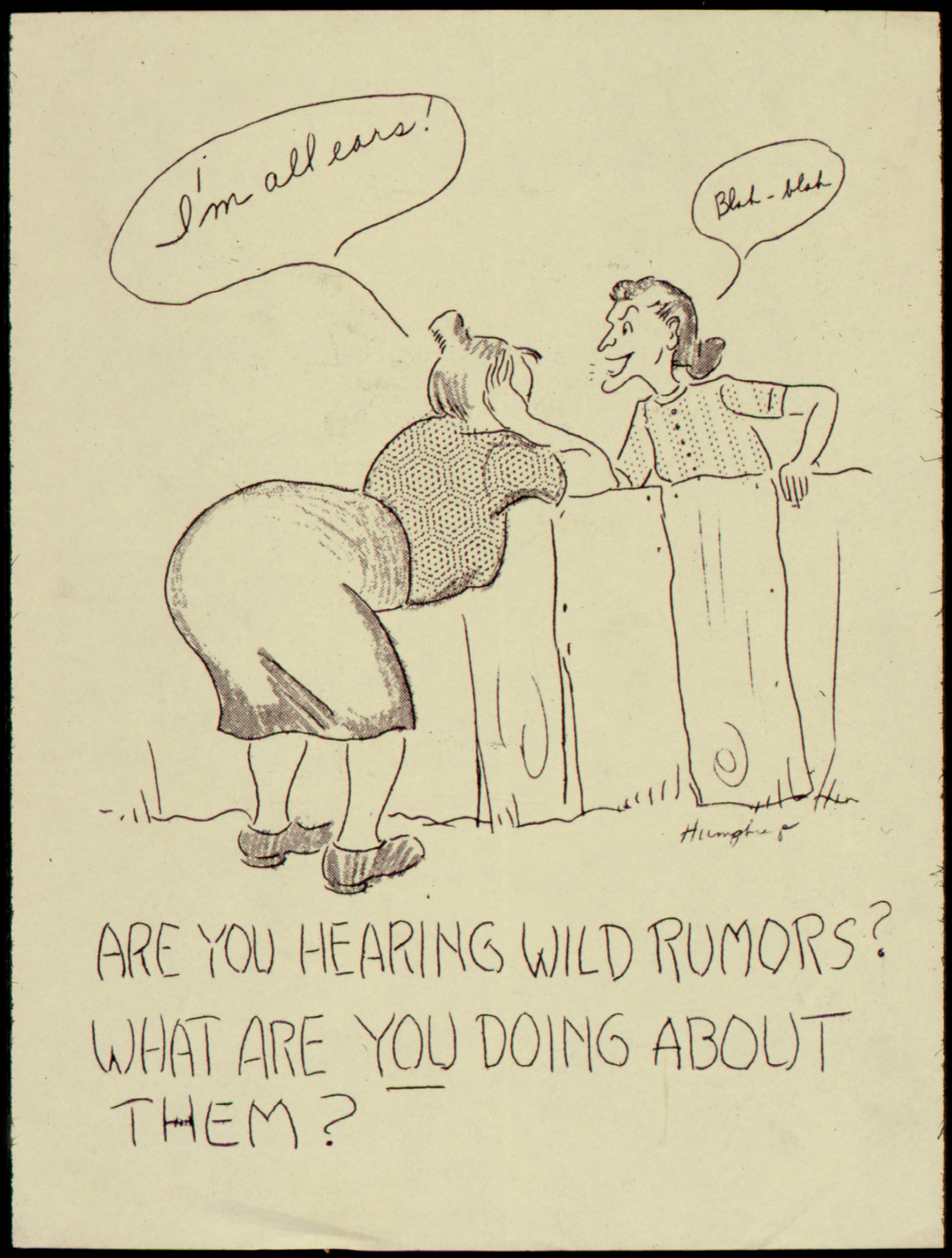 Uknown author creates Illustration of the spreading of rumors via Wikimedia Commons