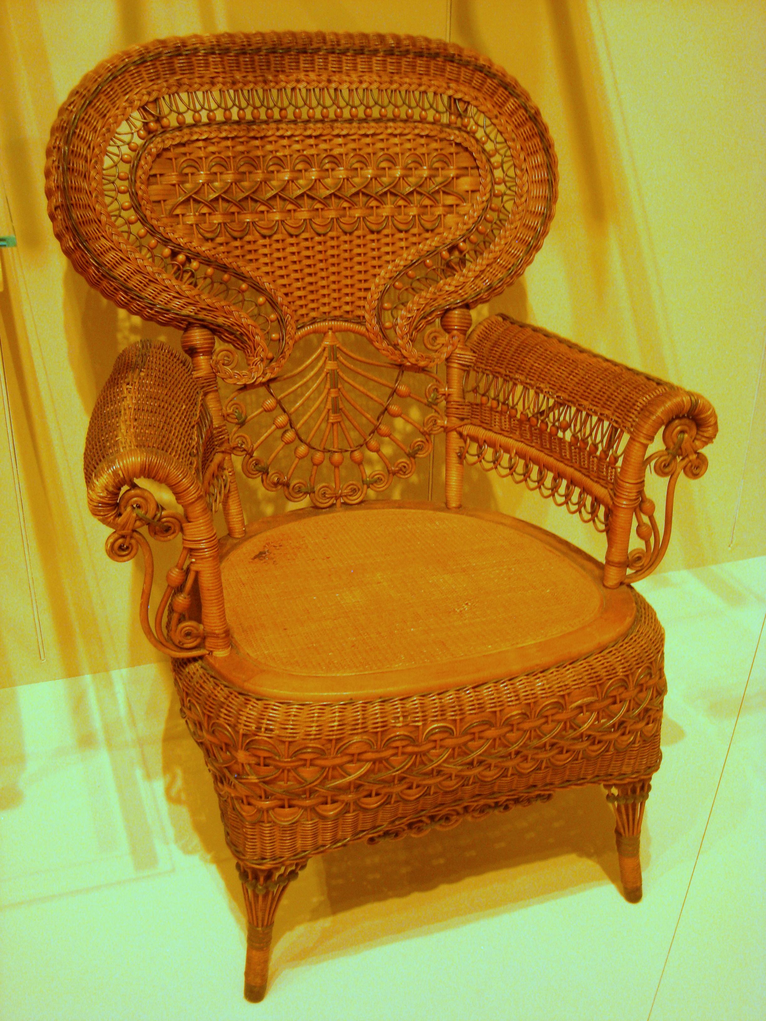 File:Armchair, Heywood Brothers U0026 Co. (Gardner, MA), C