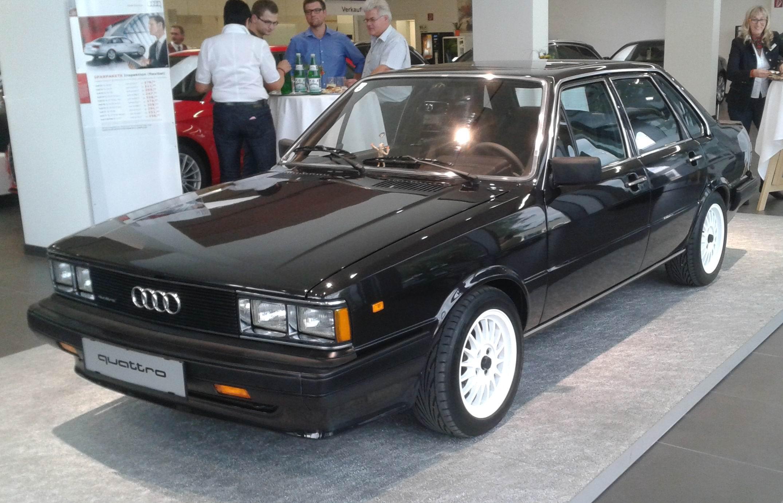 File Audi 4000s Quattro 2 2 Jt 1984 Jpg Wikimedia Commons