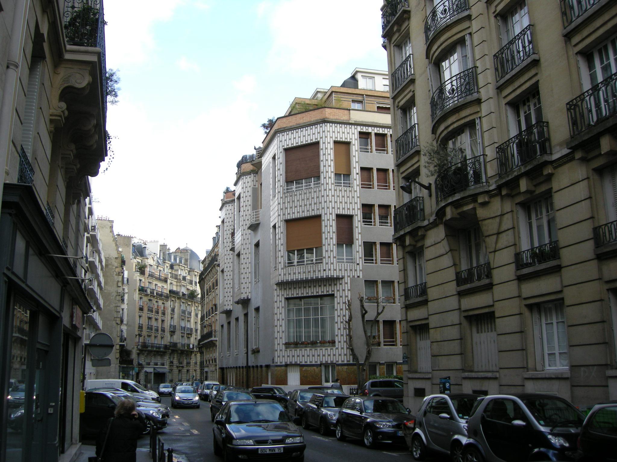 File auteuil rue la fontaine 65 complesso di studi di artisti henri sauvage jpg wikimedia - Porte de saint cloud restaurant ...
