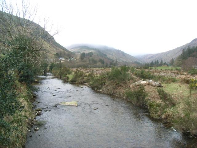 Avonbeg River in Glenmalure, Co. Wicklow - geograph.org.uk - 1217214