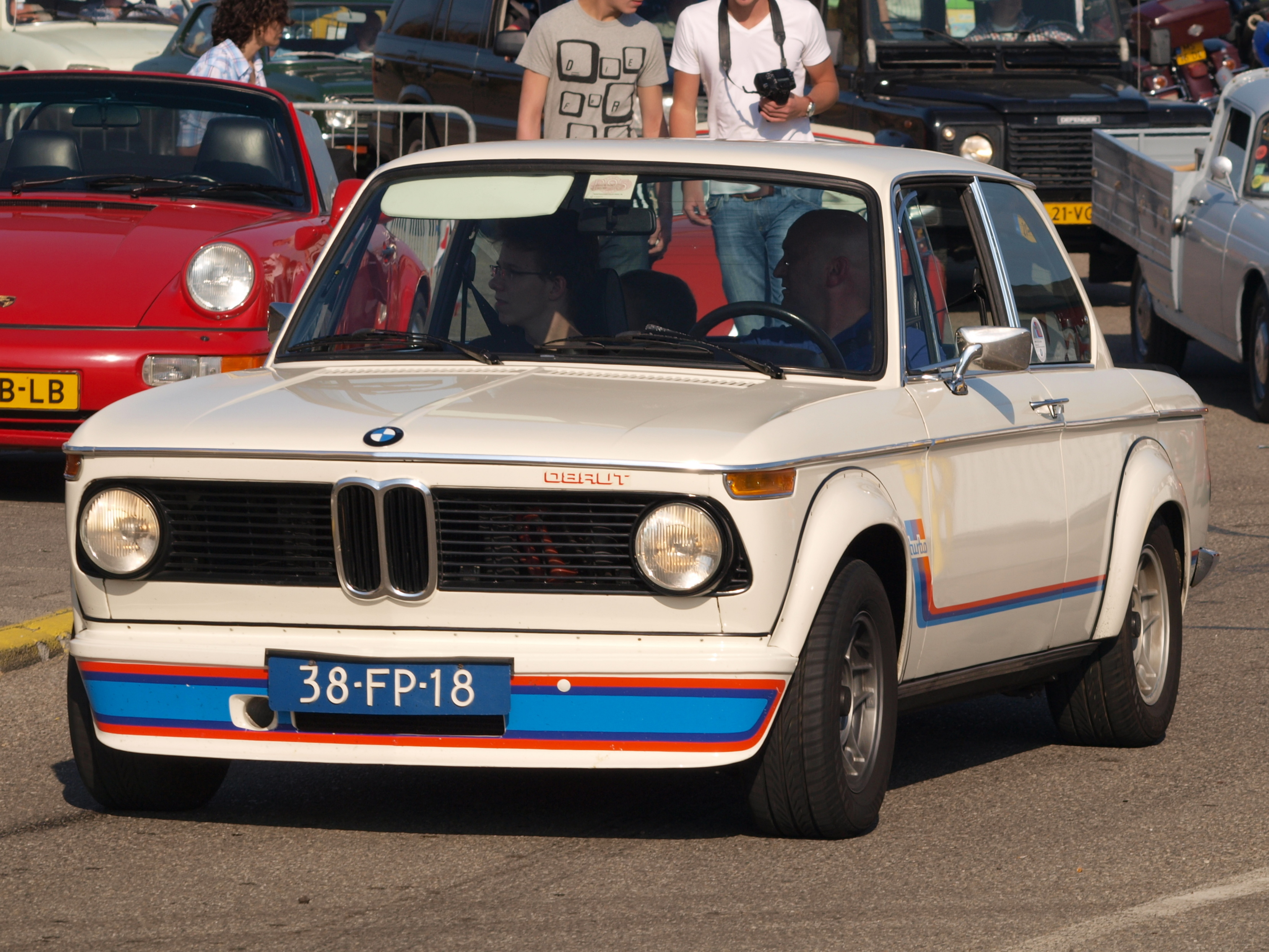 File Bmw 2002 Turbo Dutch Licence Registration 38 Fp 18