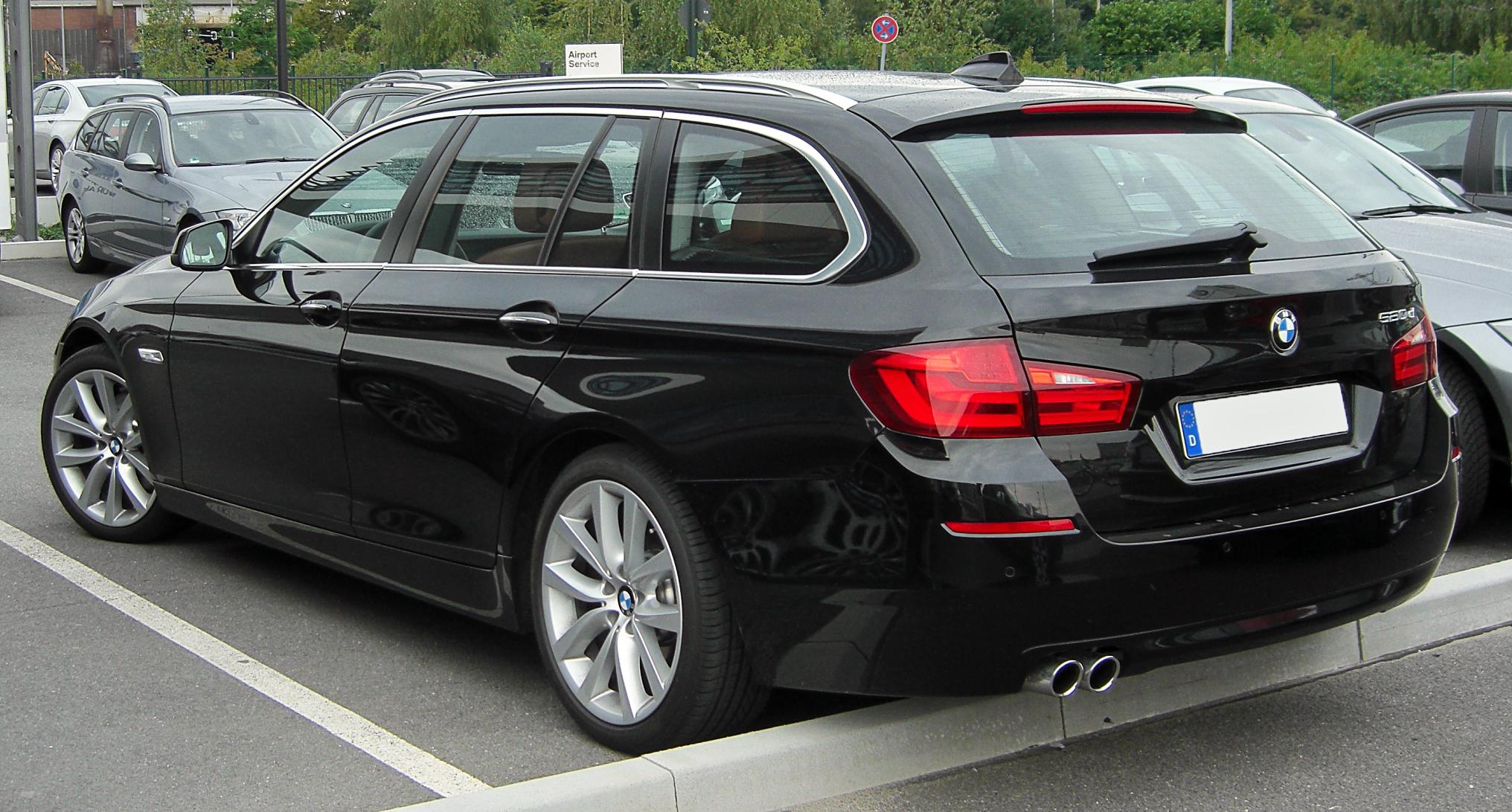 File:BMW 520d Touring (F11) rear 20100731.jpg - Wikipedia