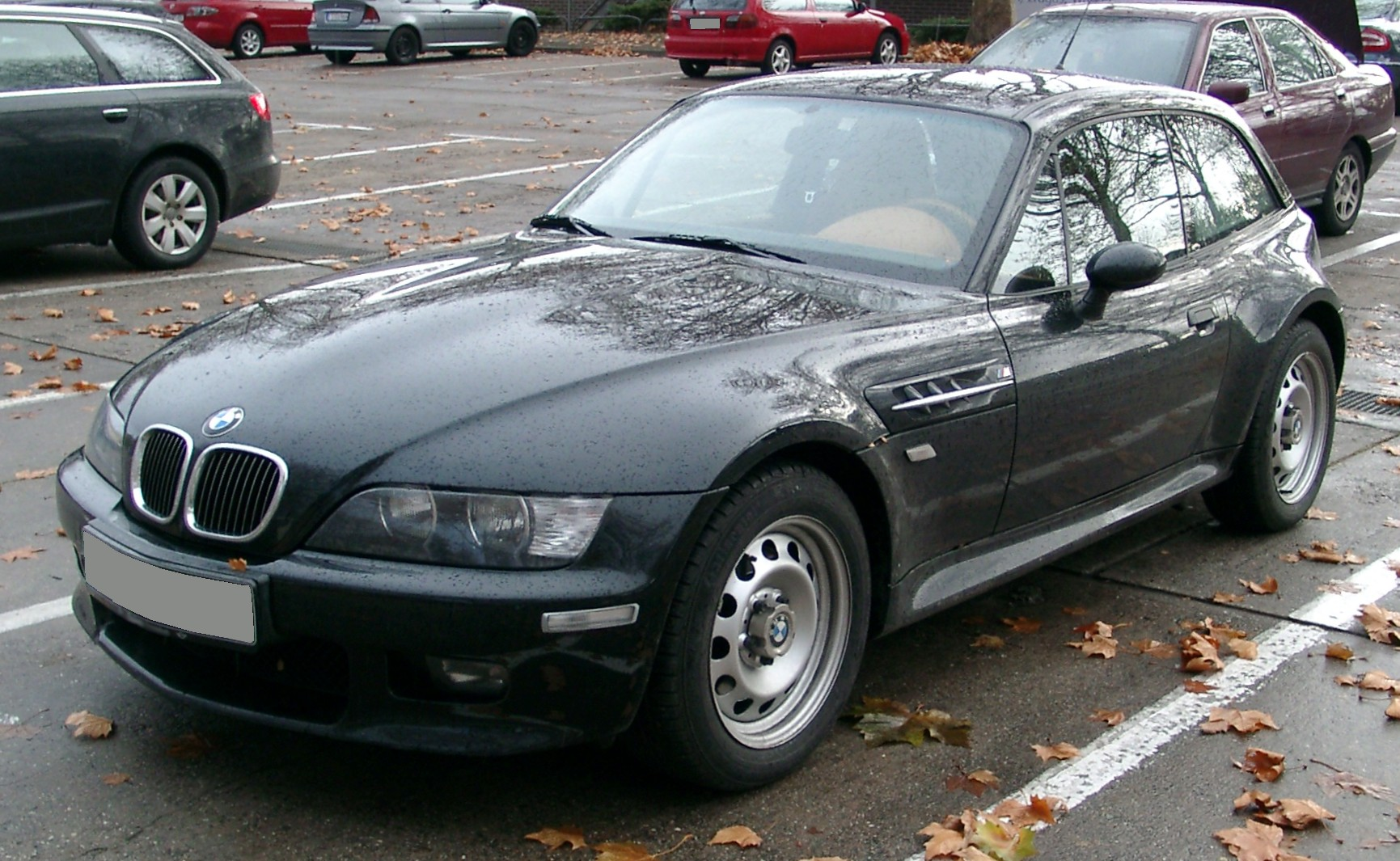 File Bmw Z3 Coupe Front 20071126 Jpg Wikimedia Commons