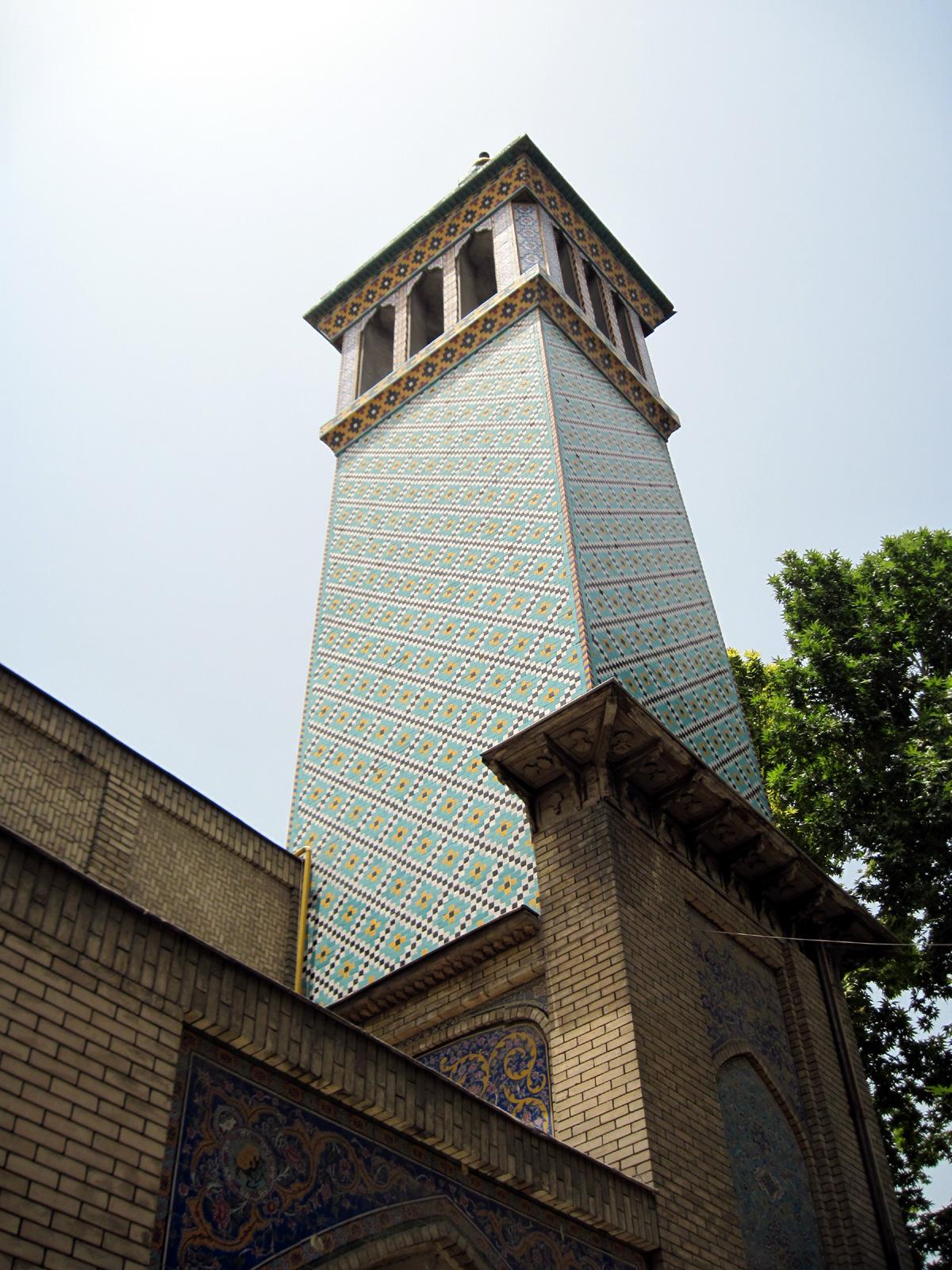The Building of Wind Catchers (Emarat-e Badgir) Golestan Palace in Tehran