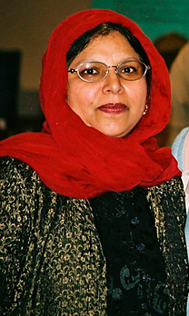 Baroness Pola Uddin, the first Asian and Muslim life peer
