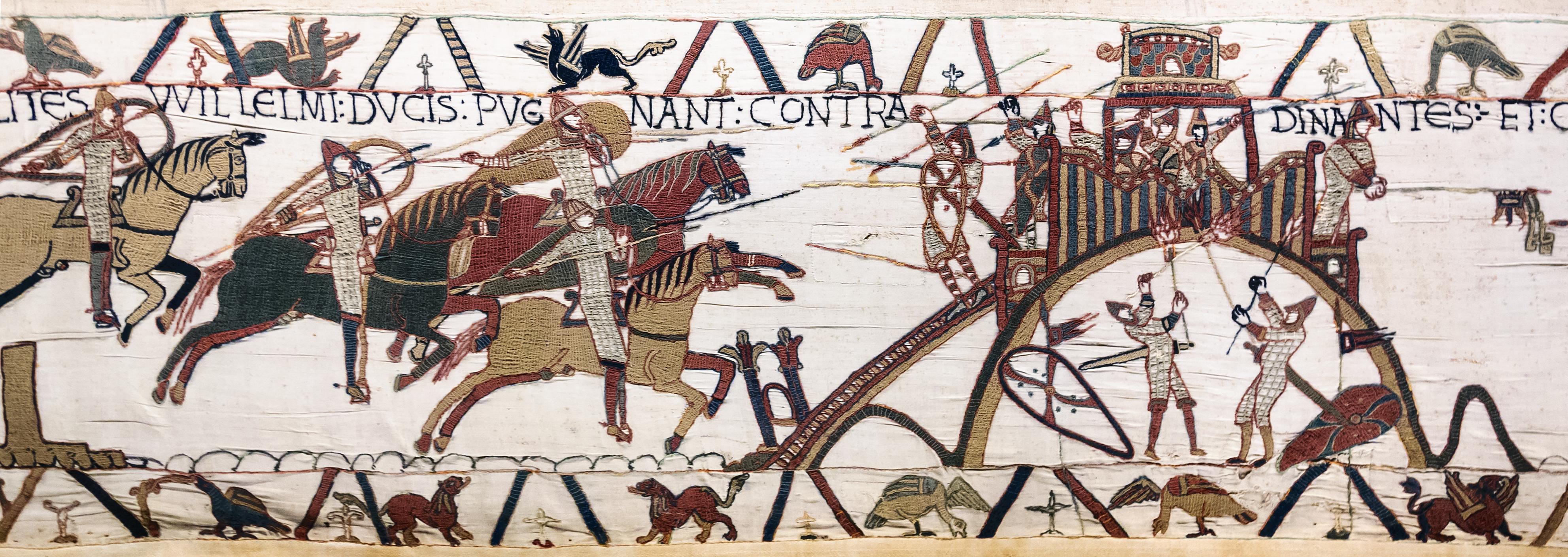Fichier bayeux tapestry scene19 wikip dia - Qu est ce que la tapisserie de bayeux ...