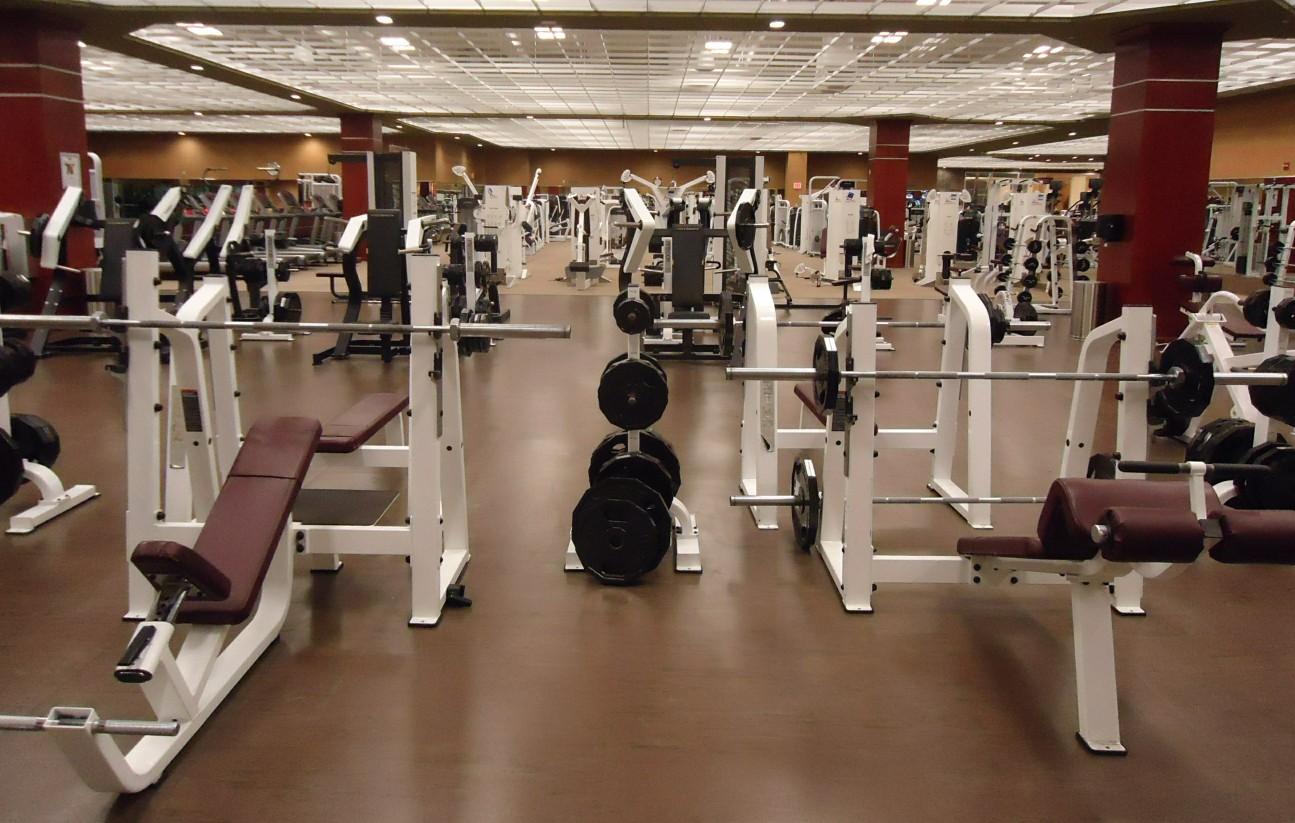 Gym Room Of Empire Hotel