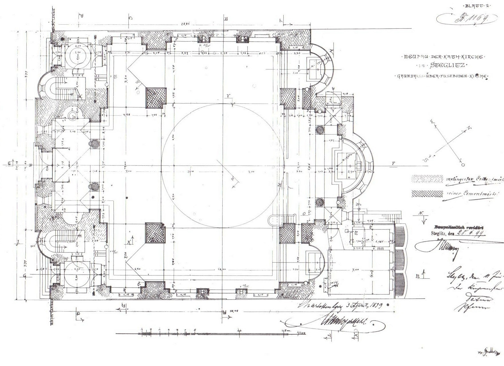 File:Berlin Rosenkranz-Basilika Grundrisszeichnung Hehl.jpg ... size: 1759 x 1276 post ID: 3 File size: 0 B