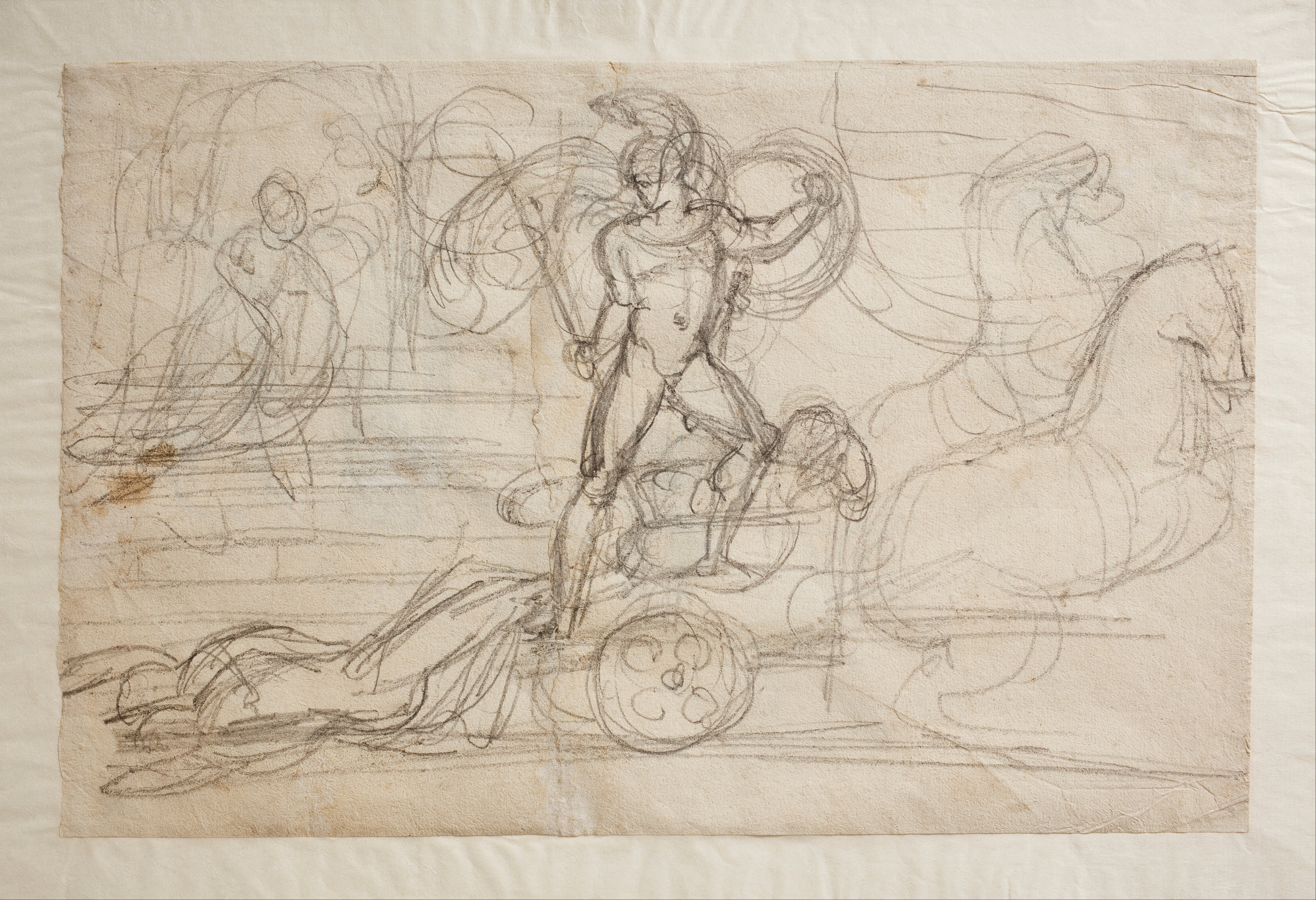 File:Bertel Thorvaldsen - Achilles Trails Hector's Body