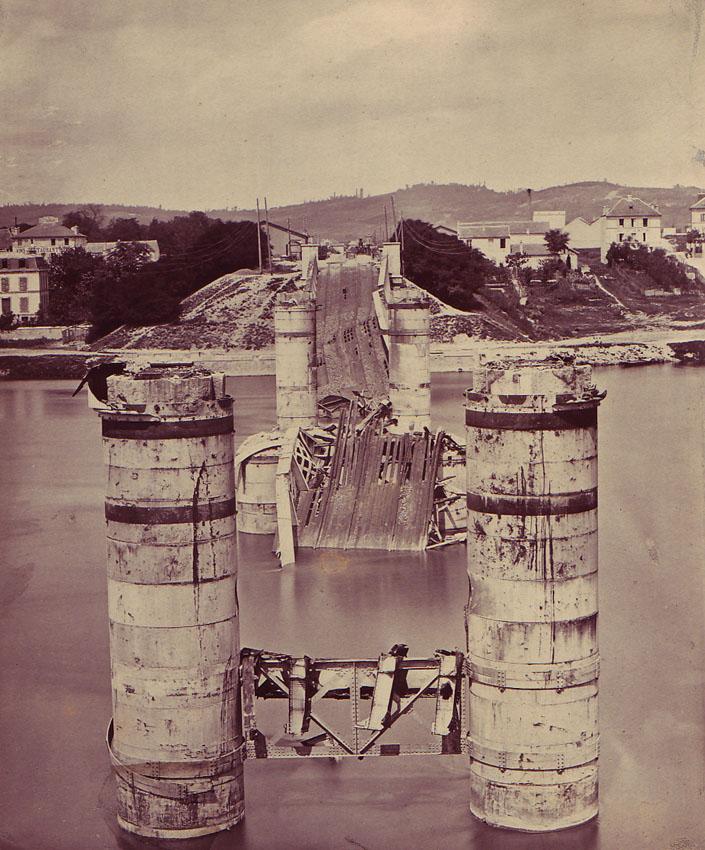 File braun adolphe 1811 1877 paris 1871 pont des for Imag fer forget argenteuil