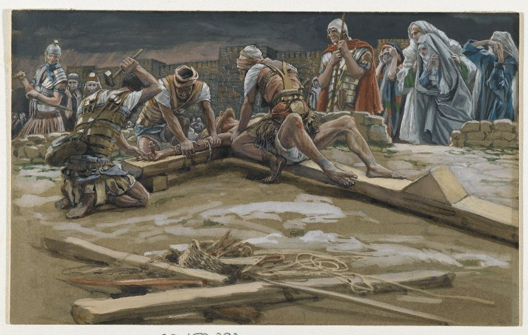 File:Brooklyn Museum - The First Nail (Le premier clou) - James Tissot.jpg