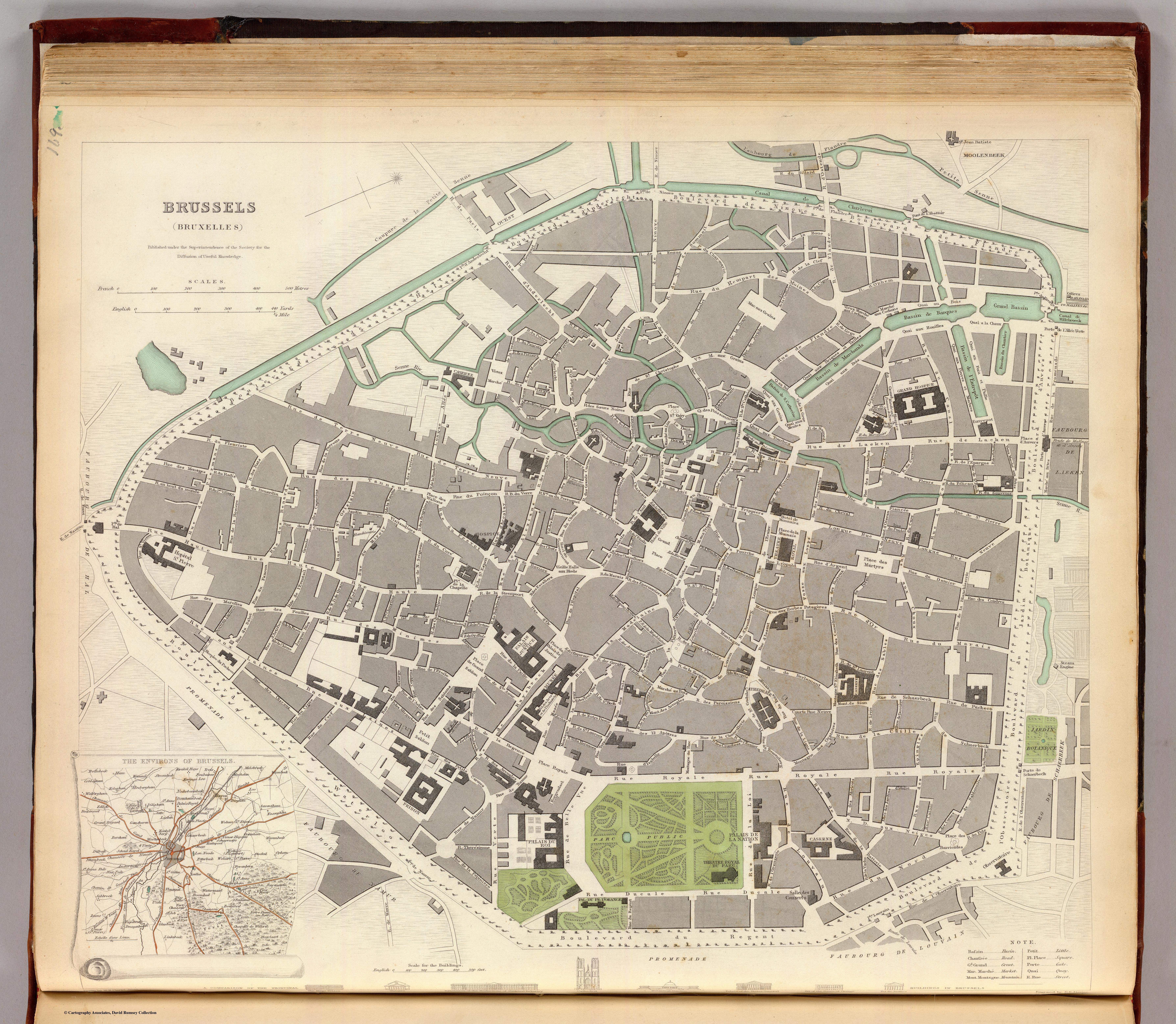 Bruxelles Plan Carte