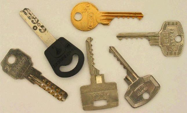 Des clefs