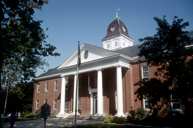 Caroline County Courthouse%2C Denton - Caroline County, MD Bed Bug Lawyer