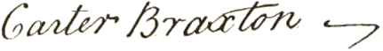 Carter Braxton Signature