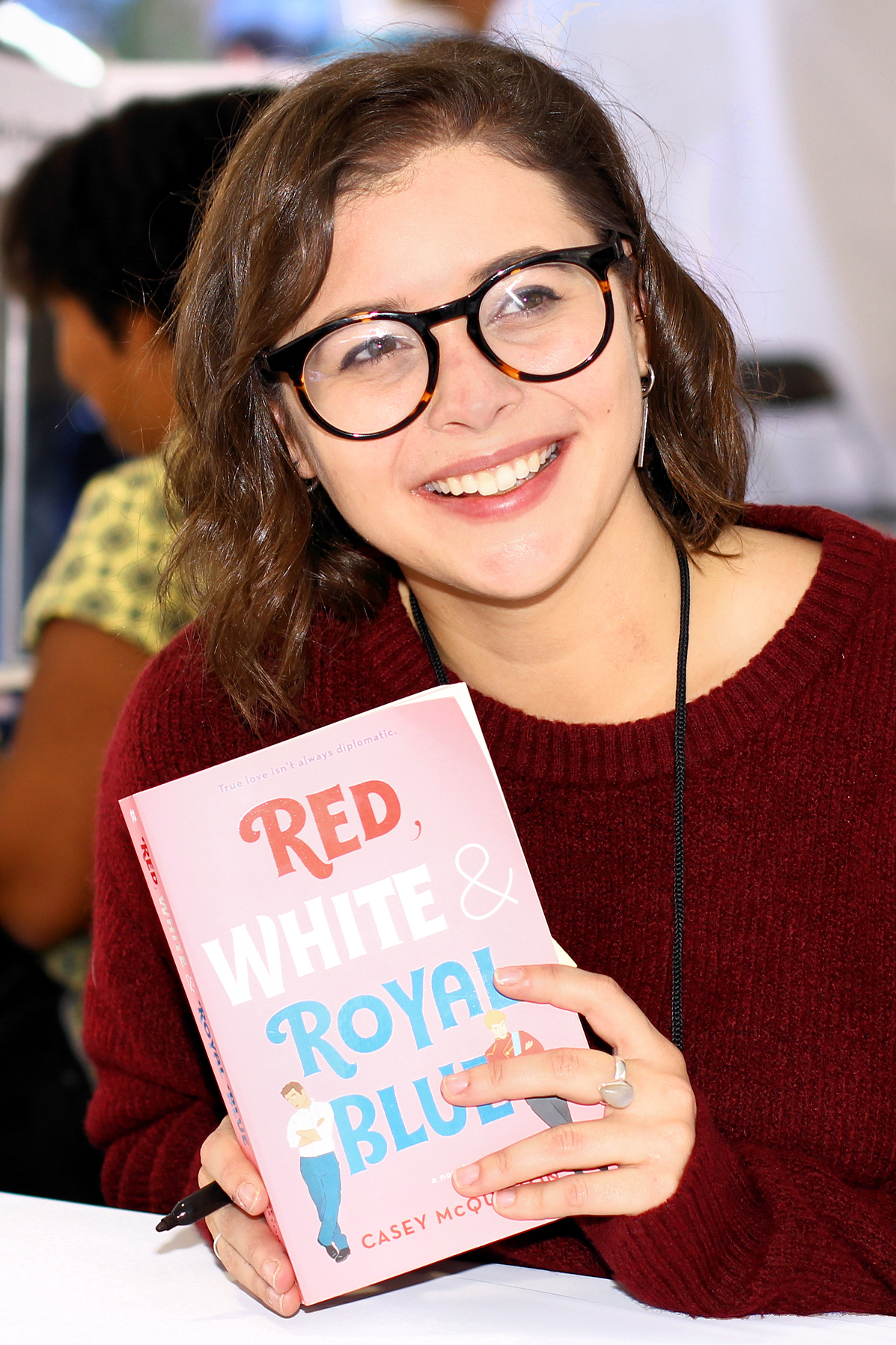 Picture of a book: Red, White & Royal Blue