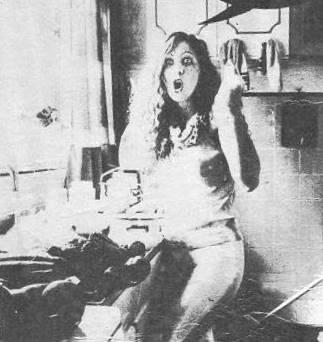 Fotografía de la portada del LP Me vuelvo cada día más loca (Interdisc S.A, 1982).